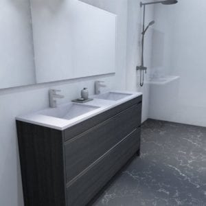Ngaio 1200mm / 1500mm Double Basin